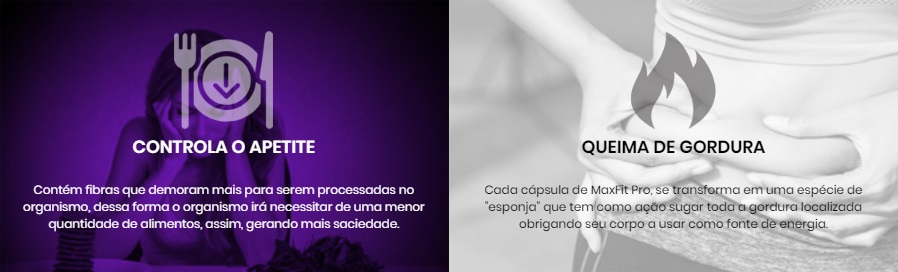 Max Fit Pro beneficios