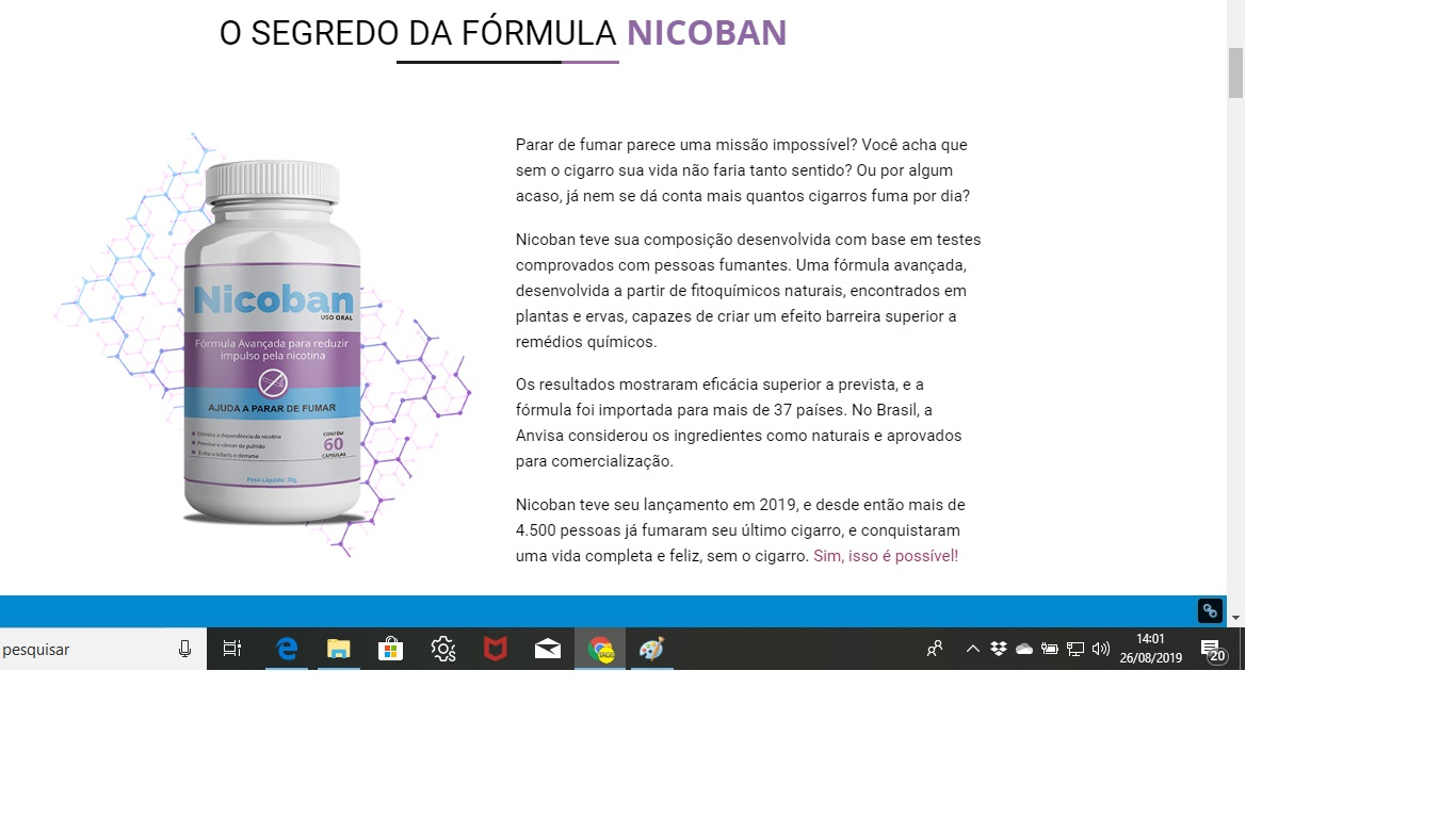 NIcoban composicao